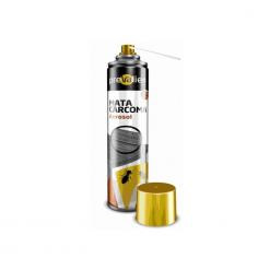 PREVALIEN PRO MATACARCOMA AEROSOL 650 CC/500 ML. Protector de madera en aerosol, frente a xilófagos de aplicación directa mediante pulverización o inyección por cánula para tratamientos preventivos y curativos.
