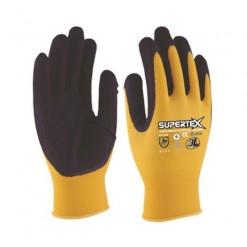 110714 vestuario calzado seguridad guantes mecanico latex nylon supertex