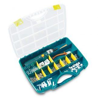 54903 ferreteria almacenaje maletin clasificador separadores tayg