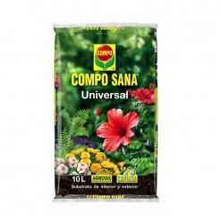 61490 Jardin camping playa cultivo tierra sustrato plantas compo