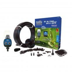 75052 Jardin camping playa riego goteo kit programador aquacontrol