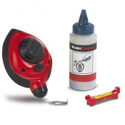82384 herramientas manuales plomada albañil azulete rubi