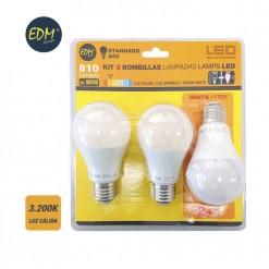 EDM98206 iluminacion pack bombilla led estándar edm