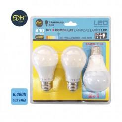 EDM98207 iluminacion pack bombilla led estandar edm