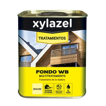 FER116254 TRATAMIENTO MADERA WB XYLAZEL 750ML INCOLORO INT/EXT