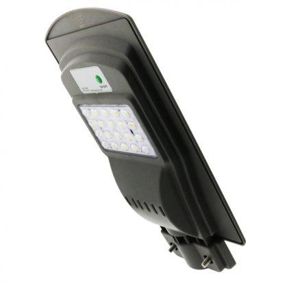 Farola Solar de LED para Alumbrado Publico 20W con Sensor