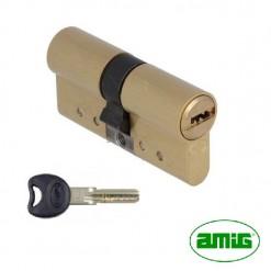 HER3233024 Cilindro – Bombillo Seguridad AMIG Serie 10000 30-40 Leva Larga LAT