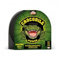 adhesivo cinta americana negro 30M pattex crocodile