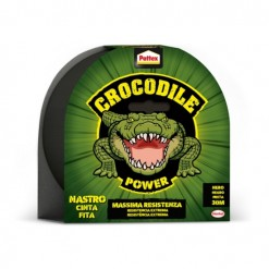 adhesivo cinta americana gris 30M pattex crocodile
