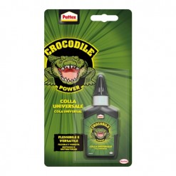 adhesivo cola pegamento universal 100% incoloro transparente pattex crocodile