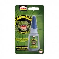 adhesivo instantáneo superglue cianocrilato 15gr pattex crocodile