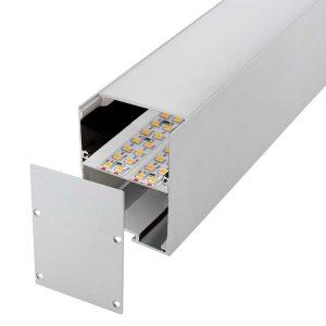 LM21107 Perfil de aluminio Orus 2 metros 12V/24V/220V Ledme